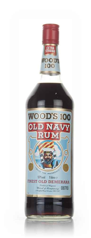 Wood's 100 Old Navy Rum (1L) - 1980s