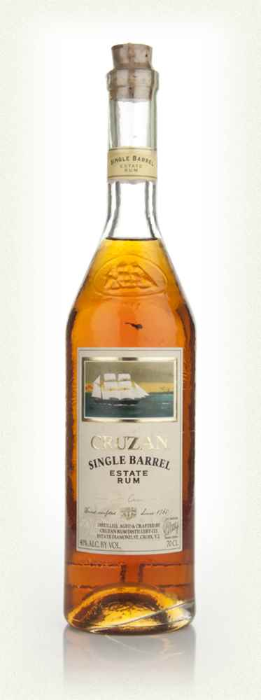 Cruzan Single Barrel Rum - Old Style Label