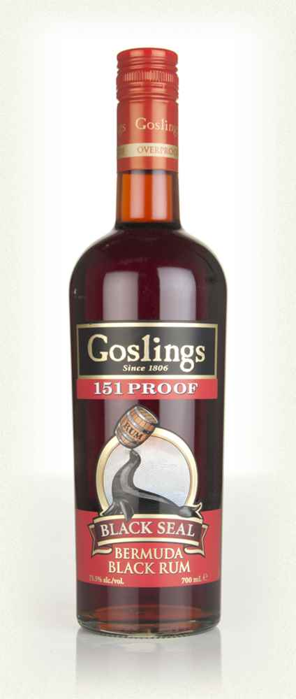 Gosling's Black Seal 151 Proof