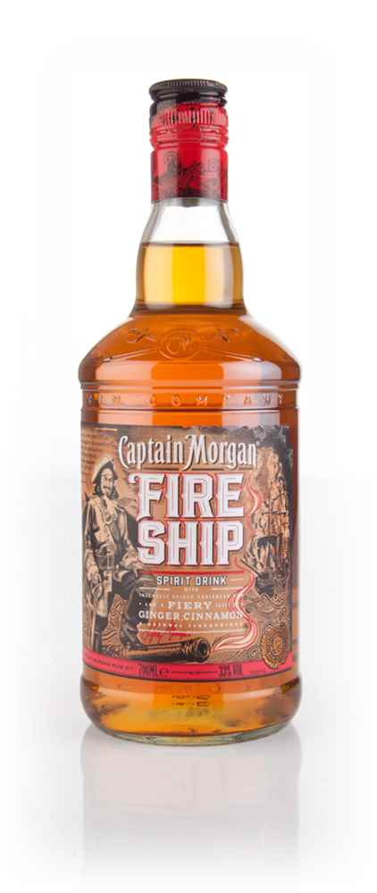 Captain Morgan Fire Ship