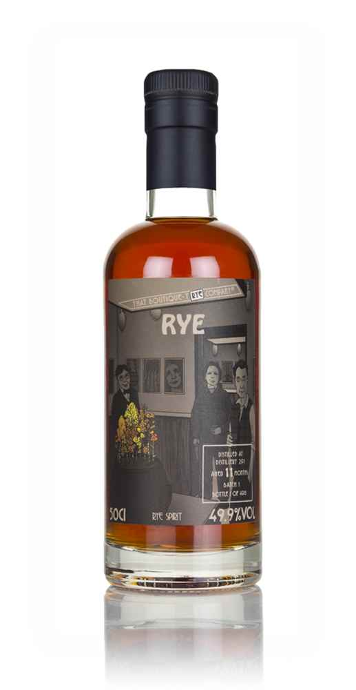 Distillery 291 11 Months Old (That Boutique-y Rye Company)