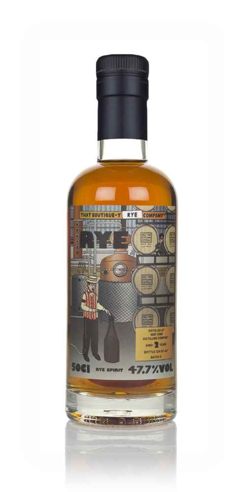 New York Distilling Company 2 Year Old (That Boutique-y Rye Company)