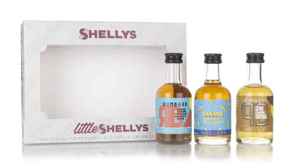Shellys Little Rum-Based Triple Pack (3 x 50ml)