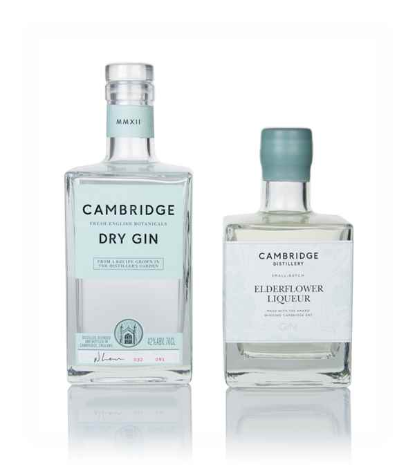 Cambridge Dry Gin & Elderflower Liqueur Bundle