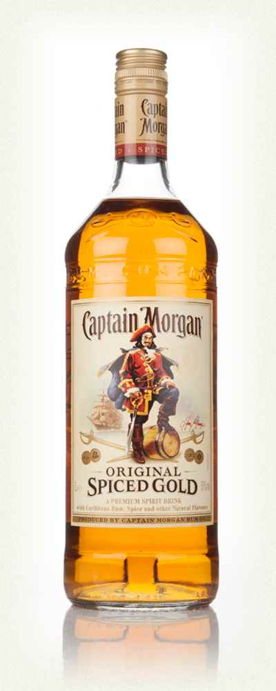 Captain Morgan's Original Spiced Gold 1l
