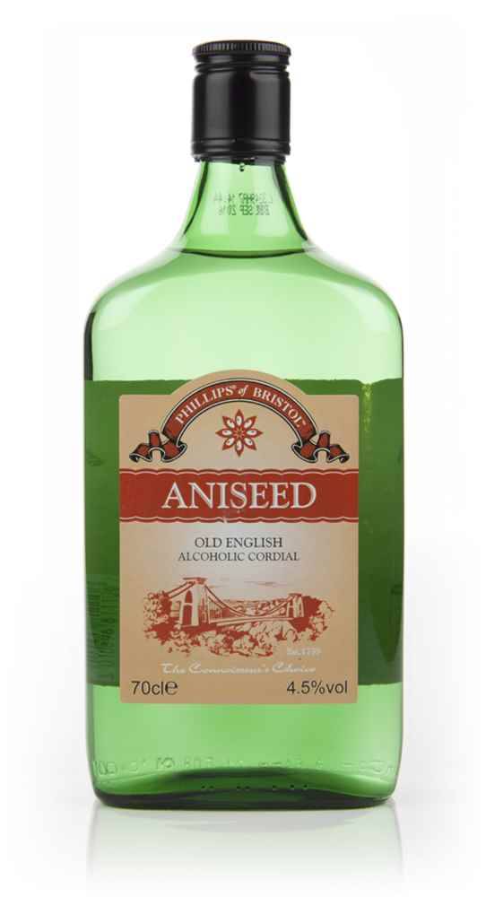 Phillips of Bristol Aniseed (Old English Alcoholic Cordial)