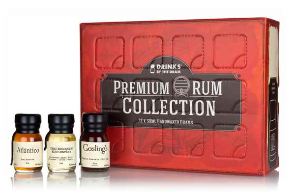 Drinks by the Dram 12 Dram Premium Rum Collection
