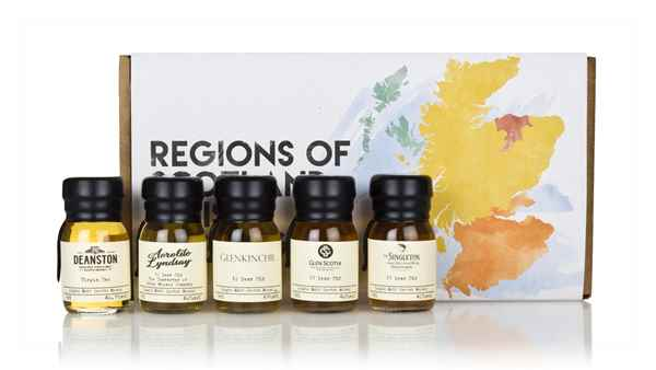 Regions of Scotland Whisky Tasting Set
