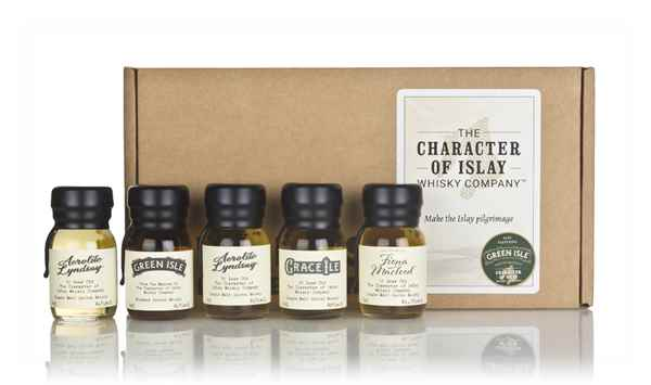 The Character of Islay Whisky Company Tasting Set