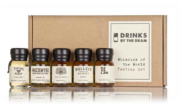 Whiskies of the World Tasting Set