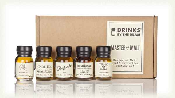 Master of Malt Staff Favourites Tasting Set