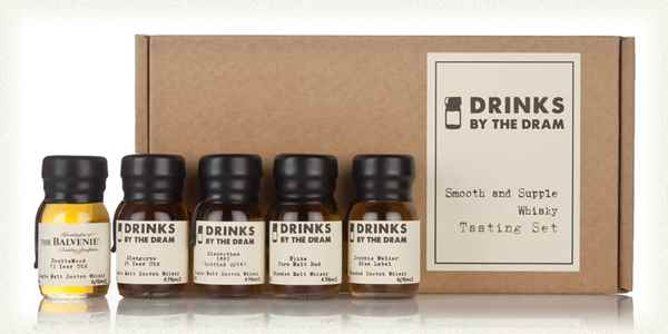 Smooth and Supple Whisky Tasting Set