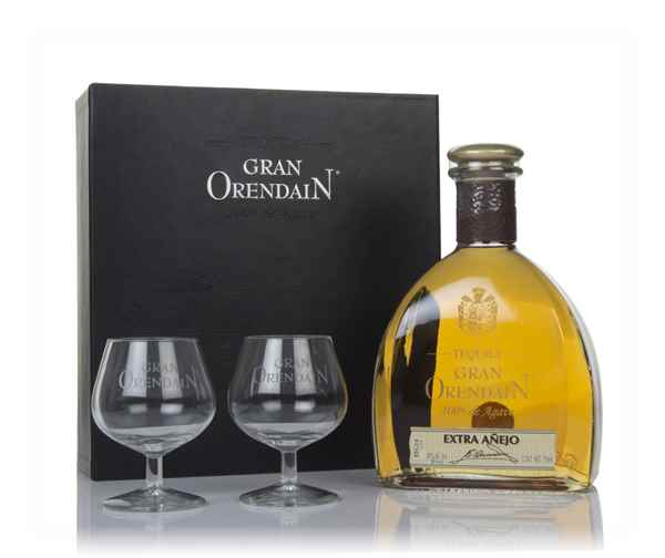 Gran Orendain Extra Añejo 3 Year Old Gift Pack with 2x Glasses