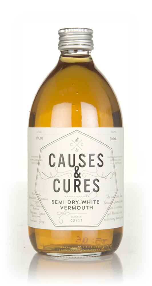 Causes & Cures Semi Dry White Vermouth