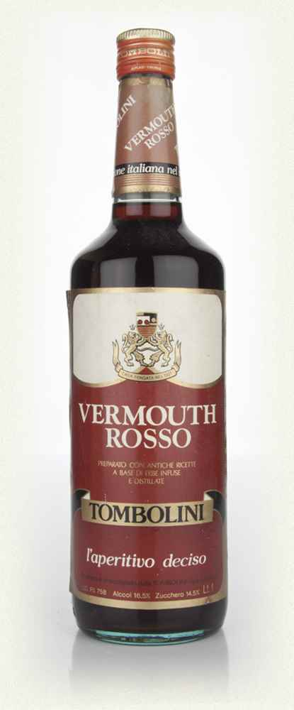 Tombolini Vermouth Rosso - 1970s