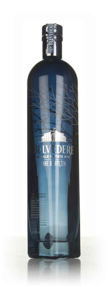 Belvedere Single Estate Rye Vodka - Lake Bartezek