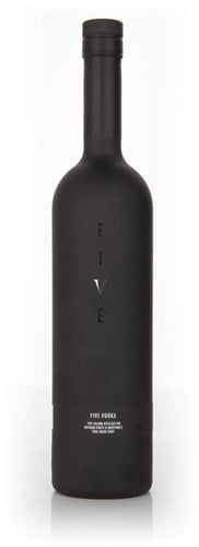 Brecon Five Black Vodka