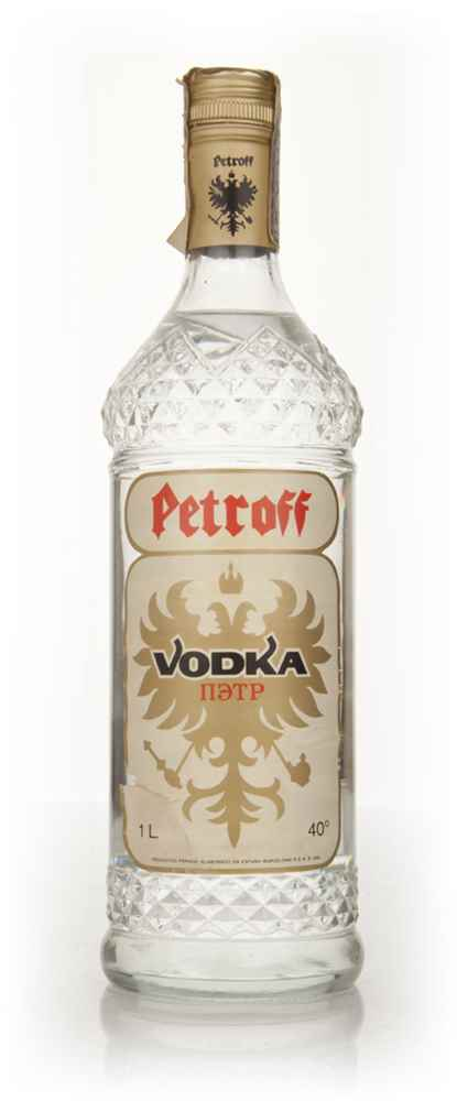 Petroff Vodka - 1960s