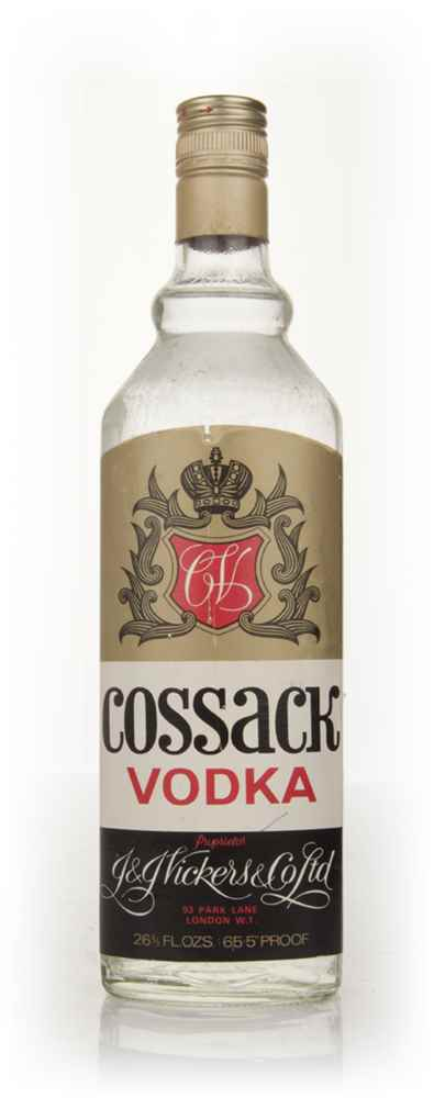 Vickers Cossack Vodka - 1970s