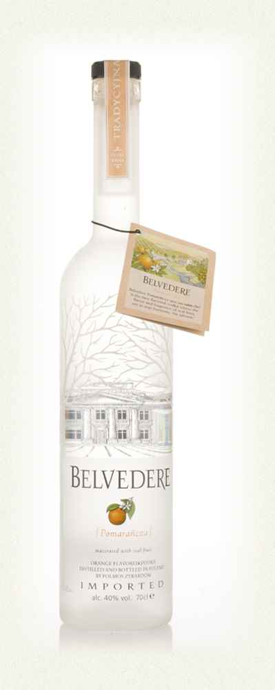 Belvedere Pomarancza Orange Vodka