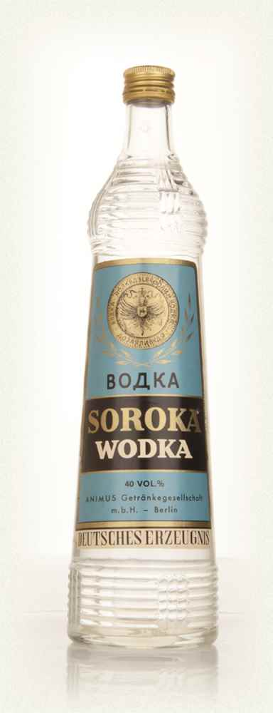 Soroka Vodka - 1970s