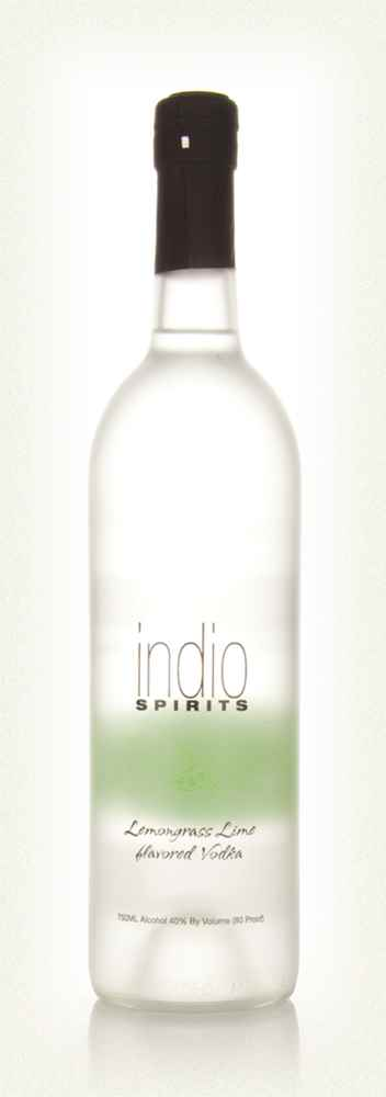 Indio Spirits Lemongrass Lime Flavored Vodka