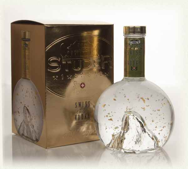 Studer Swiss Gold Vodka
