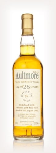 Aultmore 28 Year Old 1982 (Bladnoch)