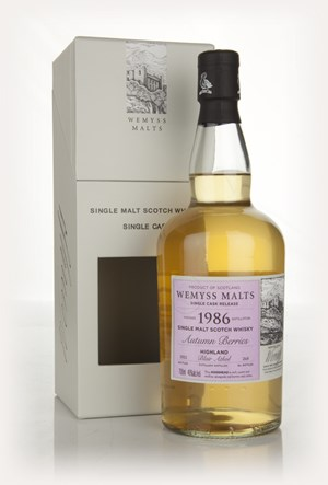 Autumn Berries 1986 - Wemyss Malts (Blair Athol)