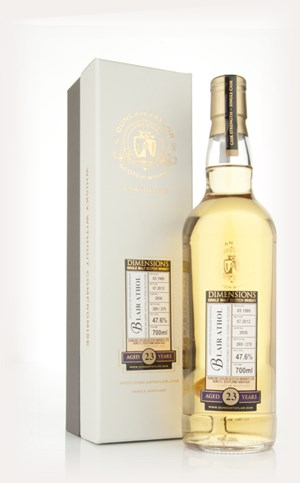 Blair Athol 23 Year Old 1989 - Dimensions (Duncan Taylor)