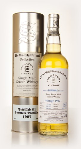 Bowmore 14 Year Old 1997 - Un-Chillfiltered (Signatory)