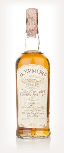 Bowmore 21 Year Old 1974