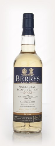 Bowmore 9 Year Old 2003 (cask 20060) (Berry Bros. & Rudd)