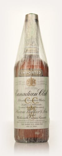 Canadian Club 6 Year Old Whisky - 1971