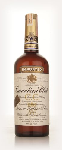 Canadian Club 6 Year Old Whisky 1l - 1957
