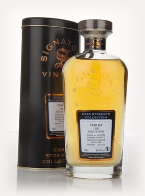 Caol Ila 29 Year Old 1982 Cask Strength Collection (Signatory)
