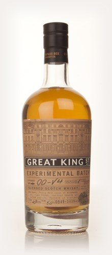 Compass Box Great King Street Experimental Batch #00-V4