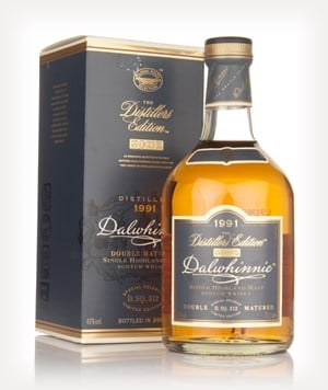 Dalwhinnie 1991 (bottled 2008) Oloroso Cask Finish - Distillers Edition