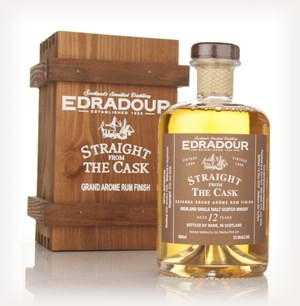 Edradour 12 Year Old 1996 Grande Arome Rum Cask Finish - Straight from the Cask