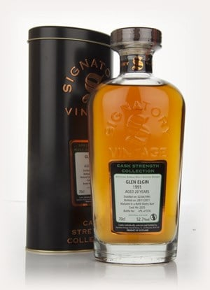 Glen Elgin 20 Year Old 1991 - Cask Strength Collection  ( Signatory)