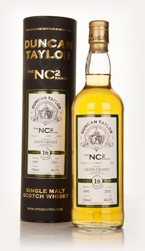 Glen Grant 16 Year Old 1995 - NC2 (Duncan Taylor)
