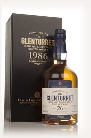 Glenturret 26 Year Old 1986 - Limited Edition (Hunter Laing)