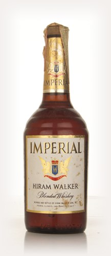 Hiram Walker Imperial Blended Whiskey - 1960s