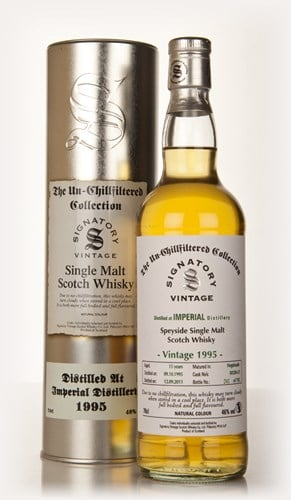 Imperial 15 Year Old 1995 Casks 50320 & 50321 - Un-Chillfiltered (Signatory)