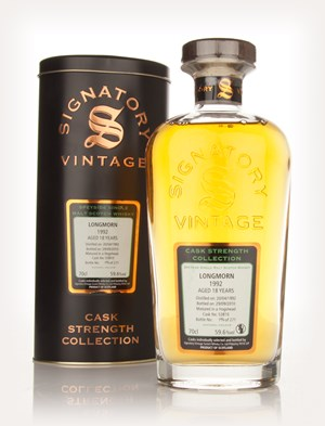 Longmorn 18 Year Old 1992 Cask 53810 - Cask Strength Collection (Signatory)