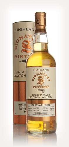 Mortlach 17 Year Old 1992 (Signatory)