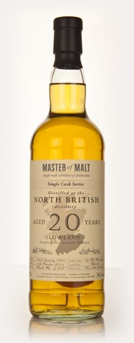 North British 20 Year Old 1991 Cask 3228 - Single Cask (Master of Malt)