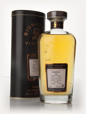 Teaninich 27 Year Old 1983 - Cask Strength Collection 2011 (Signatory)