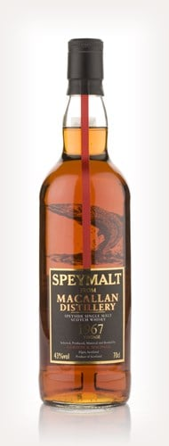 Macallan 1967 - Speymalt (Gordon and MacPhail)