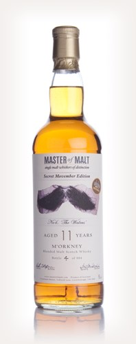 Whisky 4 Movember No 4. The Walrus